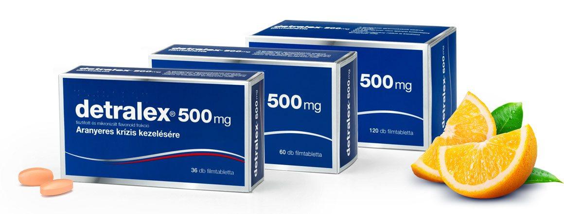 vénás gyógyszerek visszerek kezelésére